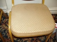 Chair Clean After Cleaning with Rotovac